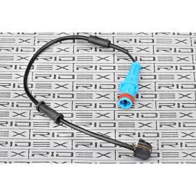 senzor de avertizare, uzura placute de frana RIDEX 407W0037 cumpărați și înlocuiți