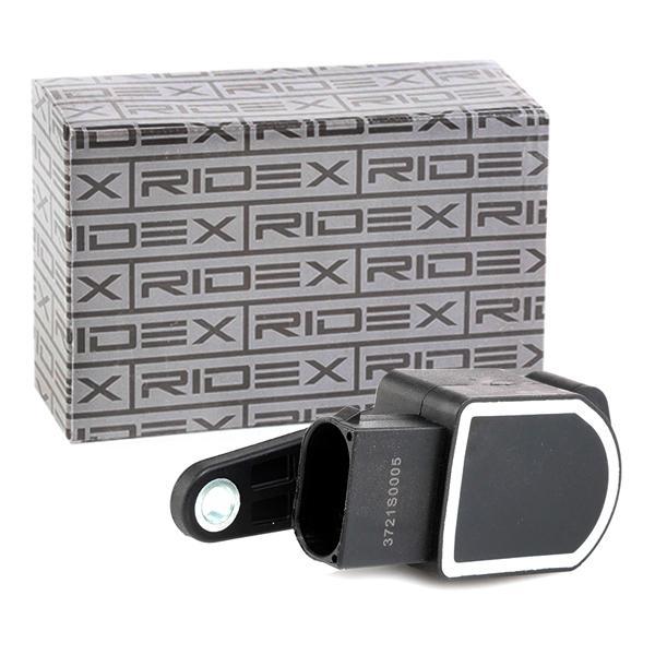 NISSAN PRIMERA Sensor, Xenonlicht (Leuchtweiteregulierung) - Original RIDEX 3721S0005