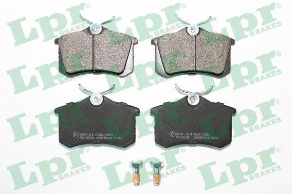05P1788 LPR mit Schrauben Höhe: 53mm, Breite: 87mm, Dicke/Stärke: 16,2mm Bremsbelagsatz, Scheibenbremse 05P1788 günstig kaufen