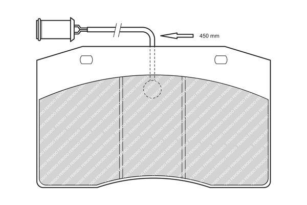 Bremsbelagsatz, Scheibenbremse FERODO FCV1614 mit 20% Rabatt kaufen