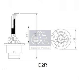 3.32942 Glühlampe, Hauptscheinwerfer DT in Original Qualität