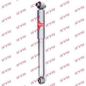 553358 KYB Gas A Just Hinterachse, Gasdruck, Einrohr, oben Auge, unten Auge Stoßdämpfer 553358 günstig kaufen