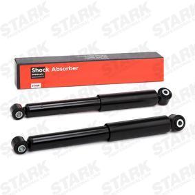 Купете SKSA-0132648 STARK задна ос, газов, двутръбен, Телескопичен амортисьор, Око горе, Око долу дължина: 446мм Амортисьор SKSA-0132648 евтино