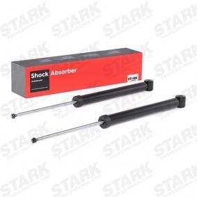 SKSA-0132654 STARK Hinterachse, Gasdruck, Zweirohr, Teleskop-Stoßdämpfer, oben Stift, unten Auge Länge: 667mm Stoßdämpfer SKSA-0132654 günstig kaufen