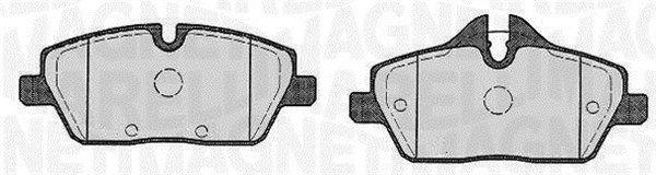 P06067MM MAGNETI MARELLI für Verschleißwarnanzeiger vorbereitet Höhe 1: 53,3mm, Höhe 2: 65,2mm, Dicke/Stärke 1: 17,8mm Bremsbelagsatz, Scheibenbremse 363916060147 günstig kaufen