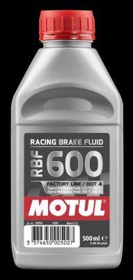 VW POLO 2018 Bremsflüssigkeit - Original MOTUL 100948 DOT 4