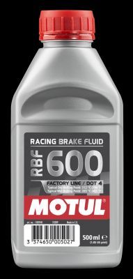 Alfa Romeo SPIDER 2004 Brake system MOTUL 100948: Capacity: 0,5l