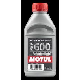 RBF600FL MOTUL Capacity: 0,5l DOT 4 Brake Fluid 100948 cheap