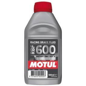 Achat de MOTUL Capacité: 0,5I DOT 4 Liquide de frein 100948 pas chères