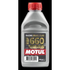 RBF660FACTORYLINE MOTUL Capacity: 0,5l DOT 4 Brake Fluid 101666 cheap