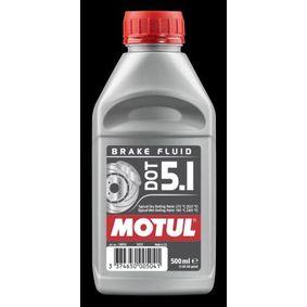 Achat de SAEJ1703 MOTUL Capacité: 0,5I DOT 3, DOT 4, DOT 5.1 Liquide de frein 100950 pas chères