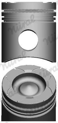 NÜRAL Piston for MAZ-MAN - item number: 87-143800-40