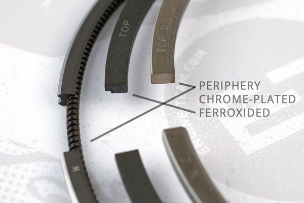 ET ENGINETEAM Kolvringsats R1000400 till MERCEDES-BENZ:köp dem online