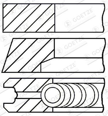 Fasce elastiche motore 08-529300-00 acquista online 24/7