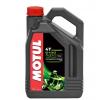 MOTUL 5100, 4T Engine Oil 15W-50, 4l, Part Synthetic Oil 104083 JAWA