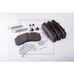 Bremsbelagsatz, Scheibenbremse PETERS ENNEPETAL 086.300-50A mit 15% Rabatt kaufen