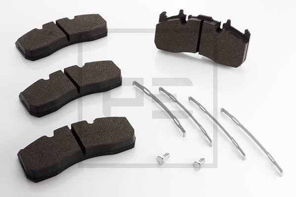PETERS ENNEPETAL Brake Pad Set, disc brake 086.329-00A - buy at a 15% discount