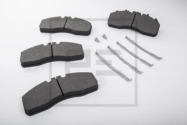 Kit de plaquettes de frein, frein à disque PETERS ENNEPETAL pour VOLVO, n° d'article 086.330-00A