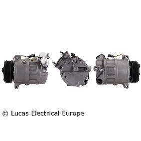 ACP01037 LUCAS ELECTRICAL PAG 46 Riemenscheiben-Ø: 110mm Kompressor, Klimaanlage ACP01037 günstig kaufen