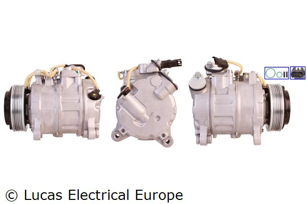 Kompressor Klimaanlage LUCAS ELECTRICAL ACP988