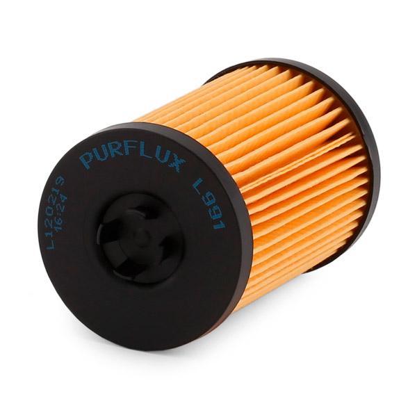 L991 Filtre d'huile PURFLUX L991 - Enorme sélection — fortement réduit