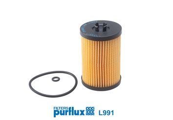L991 Filtre d'huile PURFLUX - L'expérience aux meilleurs prix