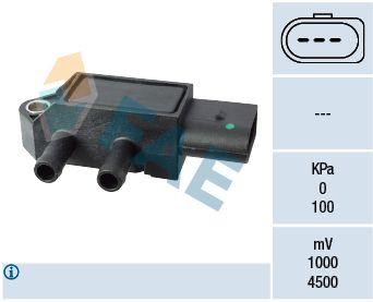 16115 FAE Pol-Anzahl: 3-polig Sensor, Abgasdruck 16115 günstig kaufen