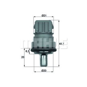 MAHLE Original TSE 1D K/ühlmitteltemperatur-Sensor