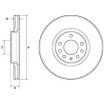Brake disc kit BG3770C DELPHI — only new parts