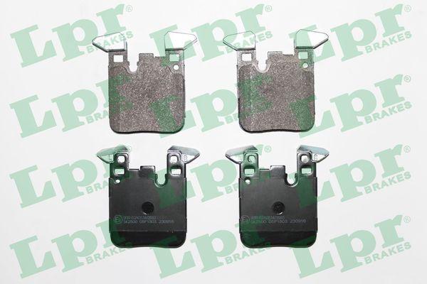 05P1803 LPR Höhe: 88,4mm, Breite: 71,8mm, Dicke/Stärke: 17mm Bremsbelagsatz, Scheibenbremse 05P1803 günstig kaufen