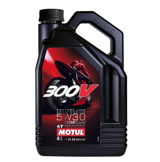 300VFLROADRACING5W MOTUL 4T FL ROAD RACING 5W-30, 4l, Synthetic Oil Engine Oil 104111 cheap