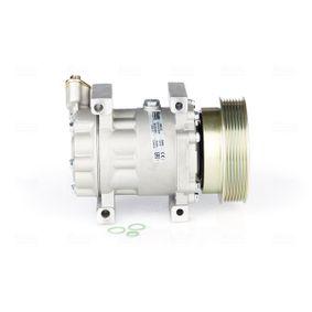 89372 NISSENS PAG 46, Kältemittel: R 134a Riemenscheiben-Ø: 125mm, Anzahl der Rillen: 7 Kompressor, Klimaanlage 89372 günstig kaufen