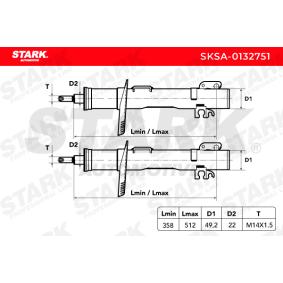 SKSA-0132751 Stoßdämpfersatz STARK - Markenprodukte billig