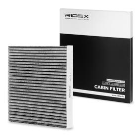 Köp och ersätt Filter, kupéventilation RIDEX 424I0183