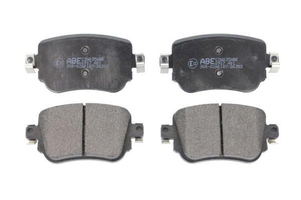 Bremsbelagsatz ABE C2W035ABE