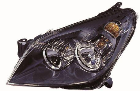 ABAKUS: Original Frontscheinwerfer 442-1140L-LD-EM (Fahrzeugausstattung: für Fahrzeuge mit Leuchtweiteregelung (elektrisch), Rahmenfarbe: schwarz)