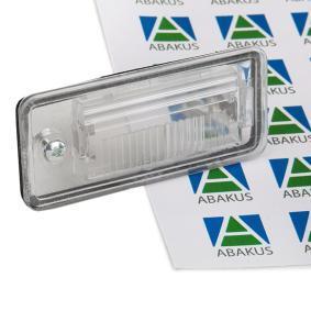 003-07-901 ABAKUS Vänster, utan glödlampa Belysning, skyltbelysning 003-07-901 köp lågt pris