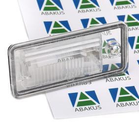003-07-902 ABAKUS Höger, utan glödlampa Belysning, skyltbelysning 003-07-902 köp lågt pris
