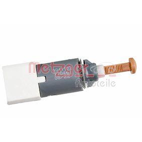 0911102 METZGER Pol-Anzahl: 4-polig Bremslichtschalter 0911102 günstig kaufen