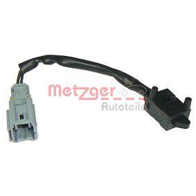 Kapcsoló, kuplung működtetés (tempomat) METZGER 0911105 - vásároljon és cserélje ki!