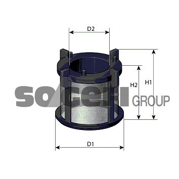 FA9564ECO SogefiPro Kraftstofffilter für AVIA online bestellen