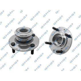 Купете GHA230100 GSP задна ос, с датчик-пръстен за ABS Ø: 137.5мм, вътрешен диаметър: 30мм Комплект колесен лагер 9230100 евтино