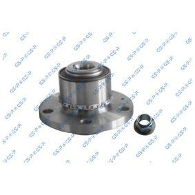 VKN6021 GSP Vorderachse, mit integriertem ABS-Sensor Ø: 120,7mm Radlagersatz 9320002K günstig kaufen