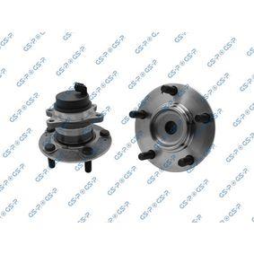 GHA400260 GSP Bakaxel, med inbyggd ABS-sensor Ø: 139mm Hjullagerssats 9400260 köp lågt pris
