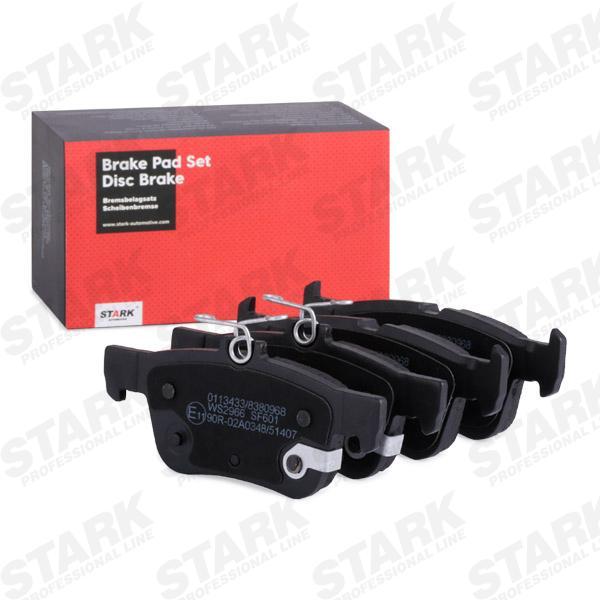STARK   Bremsbelagsatz, Scheibenbremse SKBP-0011679