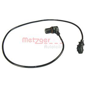 Comprare 0902244 METZGER ricambio originale Lungh. cavo: 800mm, N° poli: 3a... poli Generatore di impulsi, Albero a gomiti 0902244 poco costoso