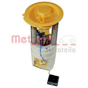 2250051 METZGER ORIGINAL ERSATZTEIL Tryck [bar]: 4,0bar Bränsletillförselenhet 2250051 köp lågt pris