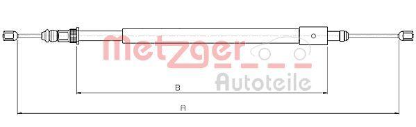 OE Original Bremsseil 10.4578 METZGER