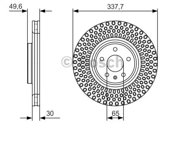Volkswagen CC BOSCH Disque 0 986 479 C90