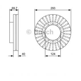 Achetez des Disque de frein BOSCH 0 986 479 D14 à prix modérés